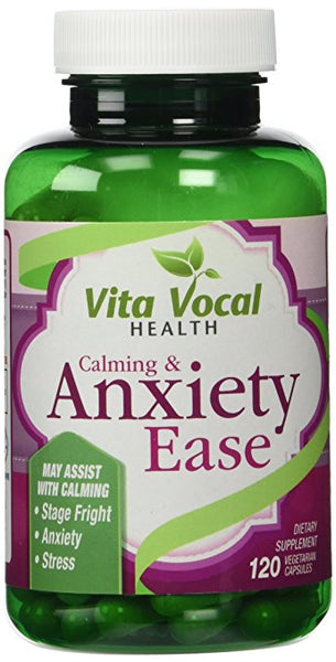 Anxiety Stress Relief Mood Booster Supplement, 120 Vcaps