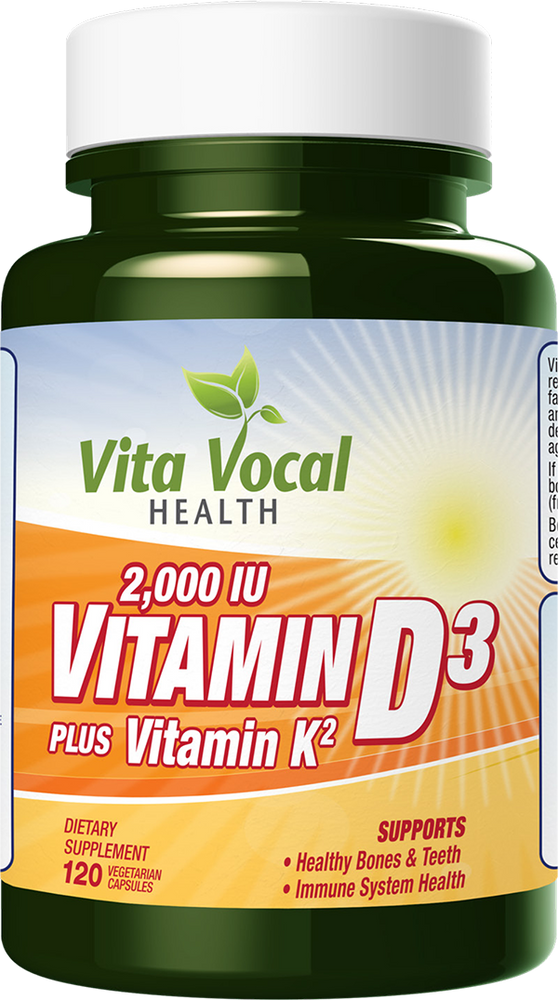 Buy online High quality natural  Vitamin D3 - Vita Vocal Health