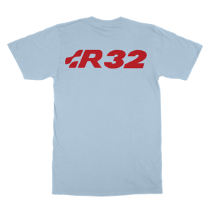 Golf mk4 R32 blanco Classic Adult T-Shirt