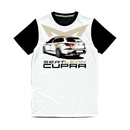 Seat Leon 5F ST Cupra ST trasero Sublimation Panel