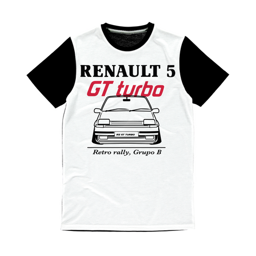 Renault R5 Gt Turbo  Sublimation