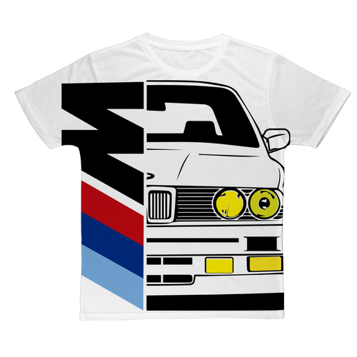 Bmw e30 Half Msport Classic Sublimation Adult T-Shirt