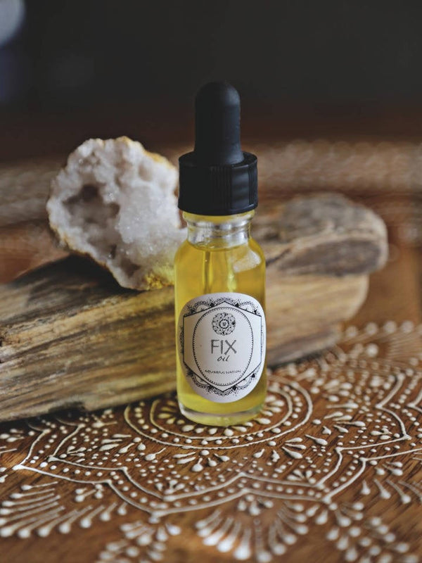 FIX FACE OIL |  AMAZING product for blemished and mature skin
