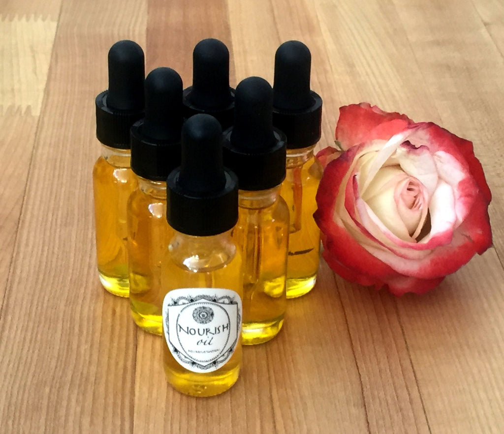 NOURISH Face Oil ||  smells heavenly || rich and intoxicating silky smooth skin