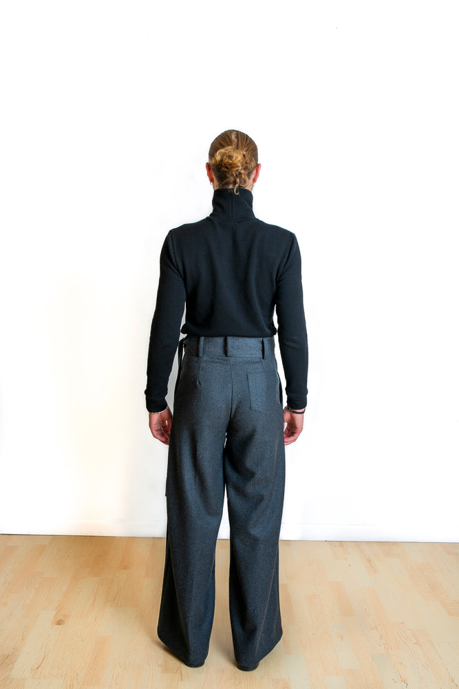 Senuj French wool trouser - Lee Rickie Collection