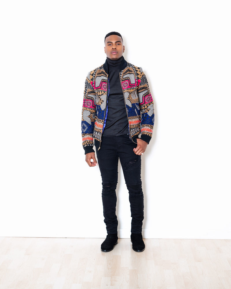 T'challa Bomber Jacket - Lee Rickie Collection