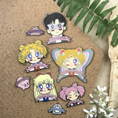 Sailor Moon Enamel Pins