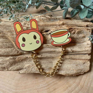 Bunnie Enamel Pin Set
