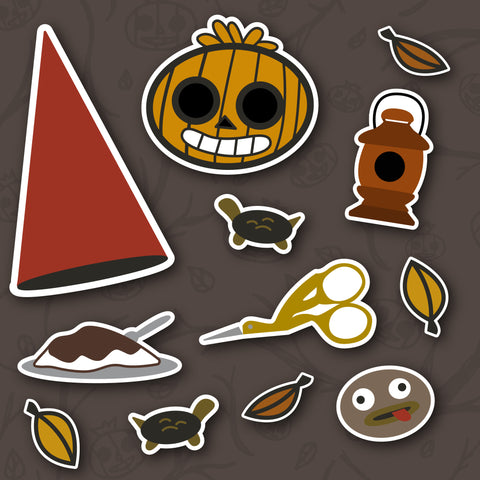 OTGW Small Sticker Set