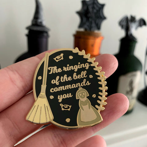 The Ringing of the Bell Enamel Pin