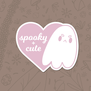 Spooky + Cute Sticker