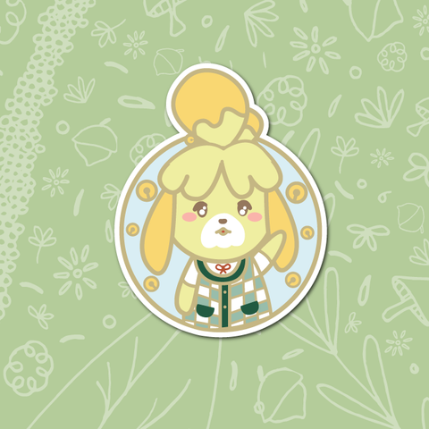 Isabelle Sticker