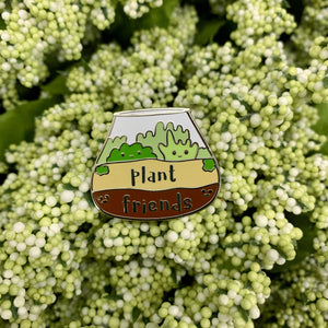 Plant Friends Enamel Pin