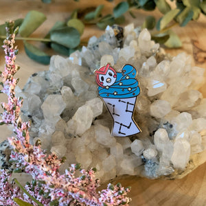 Celestial Ice Cream Enamel Pin