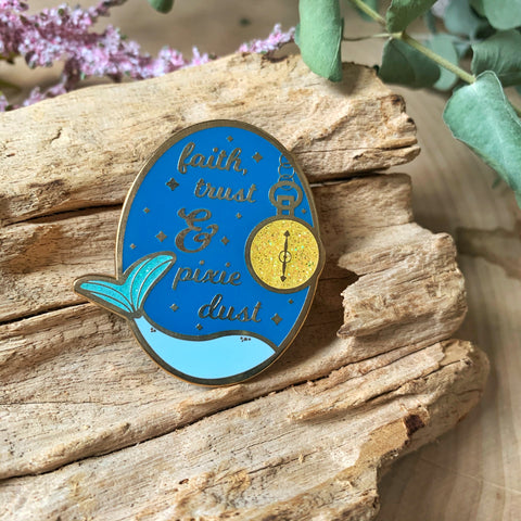 Pixie Dust Enamel Pin