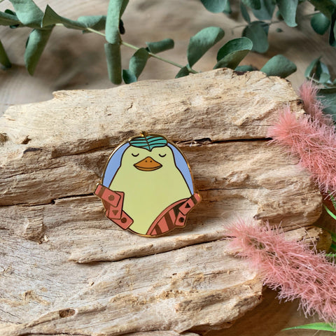 Bathhouse Duck Enamel Pin