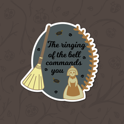 The Ringing of the Bell Sticker