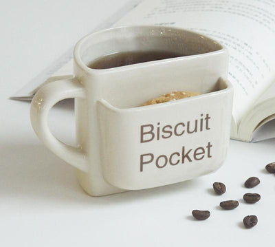 Creative Coffee Mug With Biscuit Pocket – Mug Special