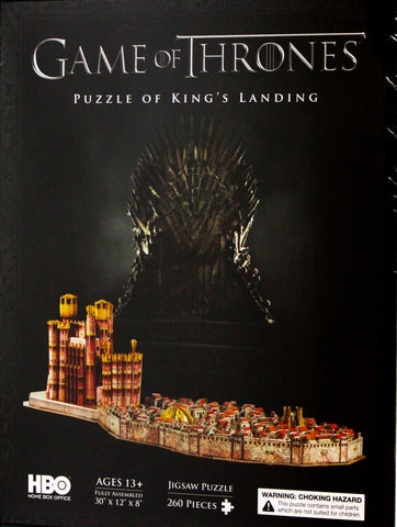 3D GAME OF THRONES KINGS LANDING