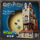 3D HARRY POTTER THE BURROW 415 PIECES