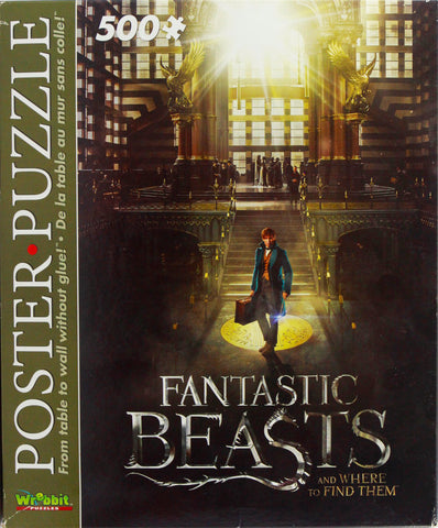 FANTASTIC BEASTS POSTER PUZZLE - MACUSA