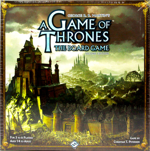 GAME OF THRONES BOARD GAME SECOND EDITION