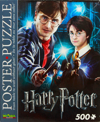 HARRY POTTER POSTER PUZZLE - HARRY POTTER