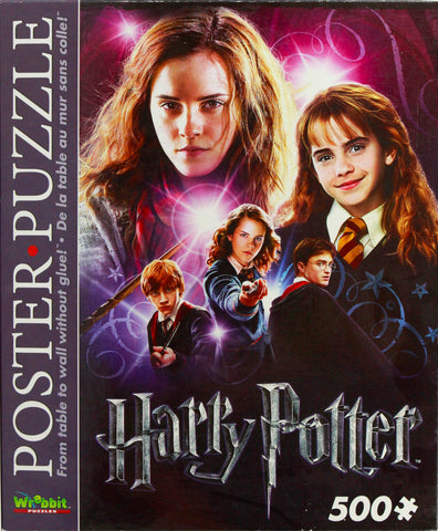 HARRY POTTER POSTER PUZZLE - HERMIONE GRANGER