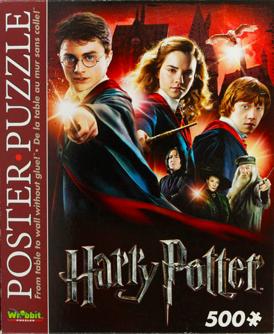 HARRY POTTER POSTER PUZZLE - HOGWARTS SCHOOL