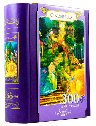 JIGSAW BOOK CINDERELLA - 300 PIECES