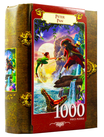 JIGSAW BOOK PETER PAN - 1000 PIECES