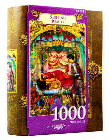 JIGSAW BOOK SLEEPING BEAUTY - 1000 PIECES