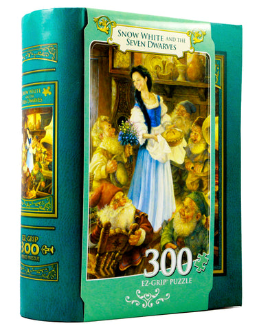 JIGSAW BOOK SNOW WHITE AND DWARVES - 300 PIECES