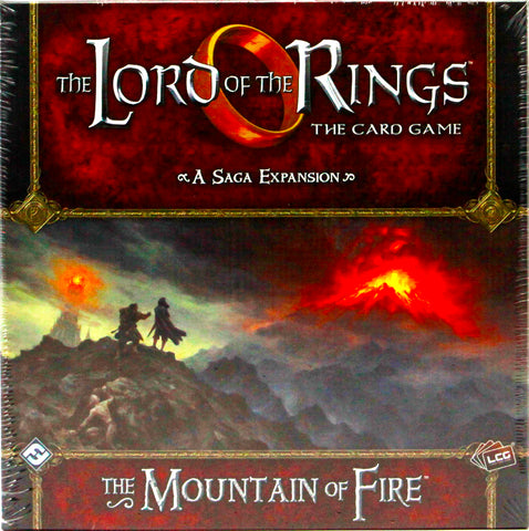 LCG LORD OF THE RINGS THE MOUNTAIN OF FIRE SAGA EXPANSION