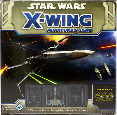 STAR WARS X-WING MINIATURES GAME CORE SET THE FORCE AWAKENS EDITION