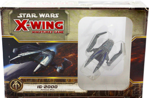 STAR WARS X-WING MINIATURES GAME IG-2000