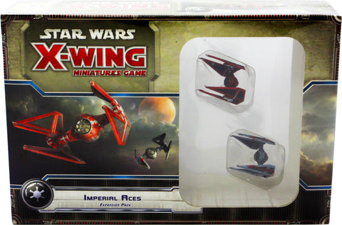 STAR WARS X-WING MINIATURES GAME IMPERIAL ACES