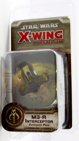 STAR WARS X-WING MINIATURES GAME M3A INTERCEPTOR