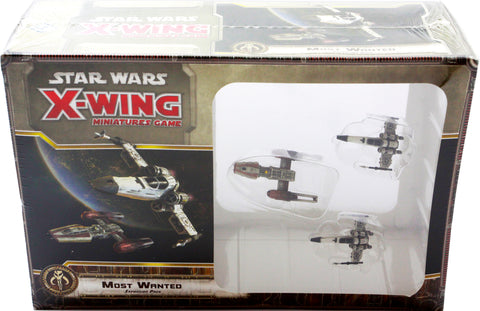 STAR WARS X-WING MINIATURES GAME MOST WANTED