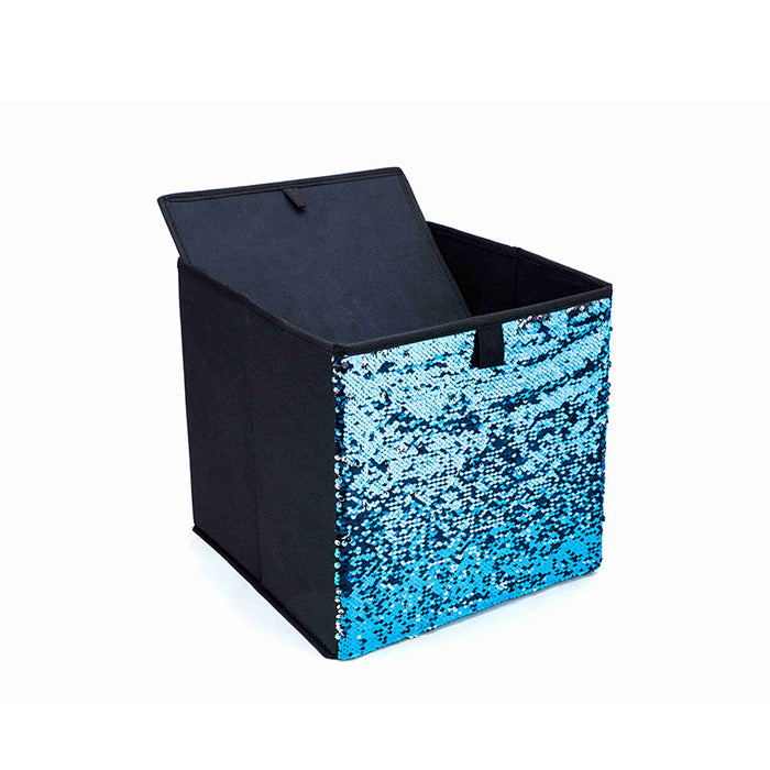 Best Toy Storage with Unique Reversible Sequins for More Fun and Joy During Organizing - Caroeas