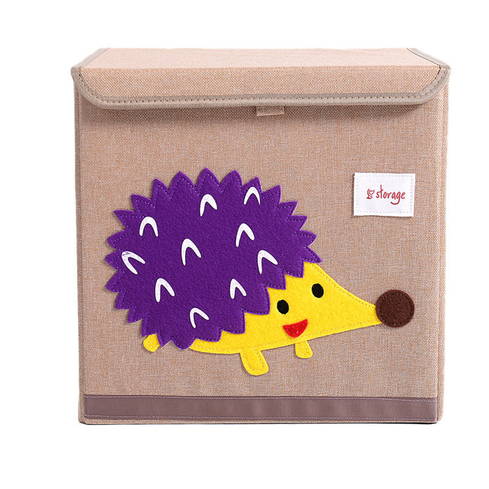 Childrens Toy Storage Cute Patterns Eco-Friendly Material for Reliable Use - Caroeas