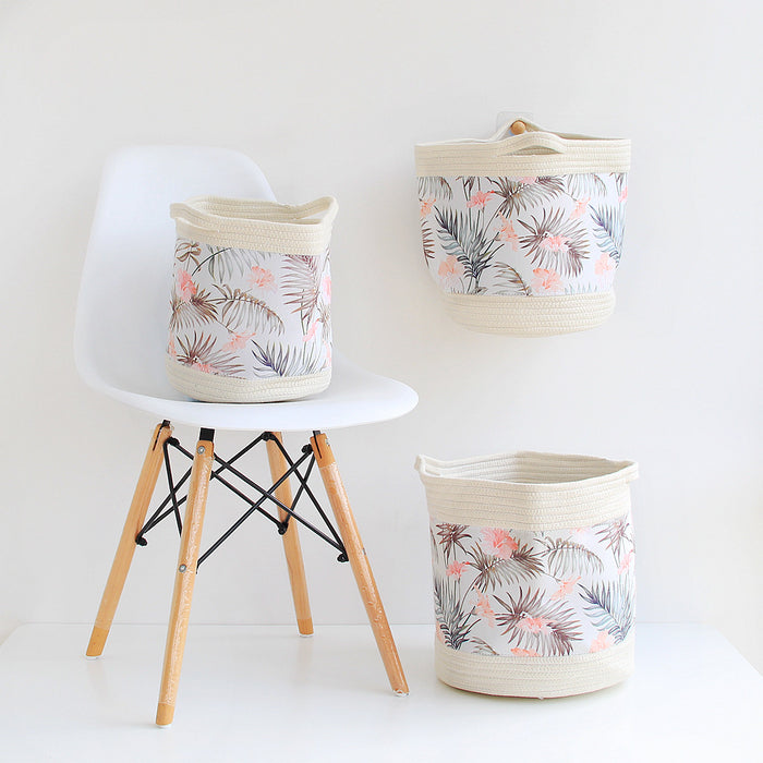 Laundry Room Baskets with Cotton Woven for Better Decorating and Durable Use - Caroeas