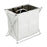 Foldable Laundry Hamper 2 Compartments Easy Sorting Increased Secure with Drawstring Closure - Caroeas