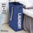 Collapsible Laundry Bin with Soft Handles Handy Laundry Basket for Corner Space (Navy Blue) - Caroeas