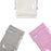 3 Packs Crib Bumpers | Mesh Crib Bumper | White Crib Bumper Pink and Grey - Caroeas