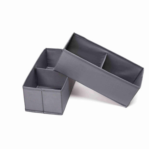 Family Storage Solution Waterproof Soft Drawer Organizer for Clothes 2 PCS for One Pack Slim Size - Caroeas