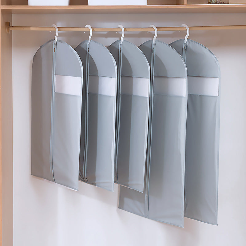 Hang Up Garment Covers Dust-Proof Easy Clean Thicken Material Durable Use - Caroeas