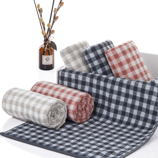 Decorative Kitchen Towels with Premium Material and Checkered Patterns for Better Decor - Caroeas