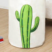 "23.6"" Cactus Collapsible Laundry Hamper Safe Waterproof And Eco-friendly PE Ladunry bag"