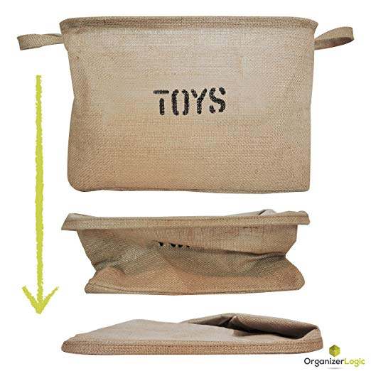 Kids Toy Storage Sturdy Eco-Friendly Material for Consistent and Safe Use for Children - Caroeas